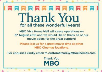 Mbo Viva Home Cinema Closed