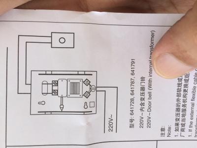 Door Bell Wiring