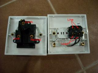 Water Heater Switch With Red Light Indicator