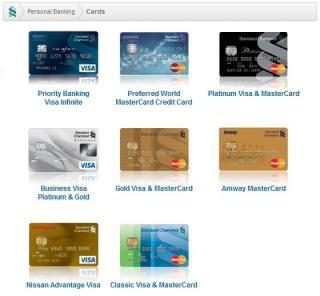 Standard Chartered Bank Credit Cards V1