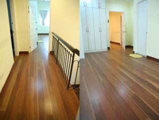 Laminated/Timber flooring