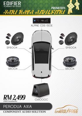 Edifier Car Audio Solution