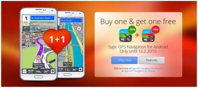 Sygic (Buy 1 get Free 1)