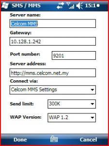 GPRS MMS Activate Setting For Hotlink DiGi Celcom