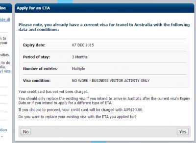 how to cancel eta visa