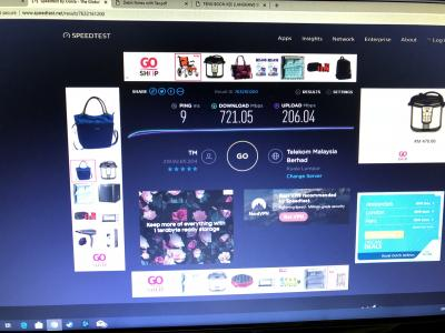 Maxis 100Mbps or Unifi 100Mbps both RM 129