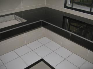 2 X2 Tiles Concrete Table