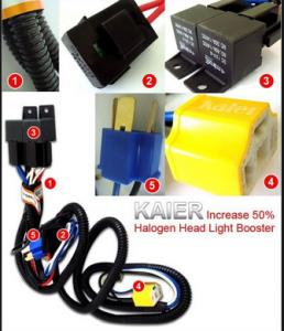 wts h4 relay kit ceramic socket headlamp booster rh forum lowyat net