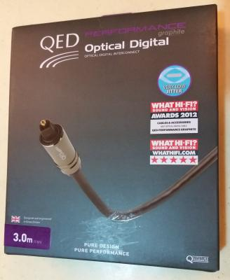 [WTS] QED Performance Toslink Digital Optical Audio Cable Graphite 3m (NEW) Post-13016-1534166812_thumb