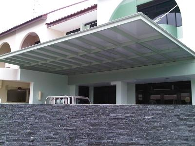 Glass Roof Polycarbonate Roof Alucobond Roof