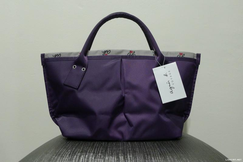 Edition Jualbeli Authentic Agnesb Japan Tote Wts From Limited BedCrxo