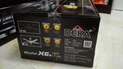 WTS Deka X6N Gun Metal Color X2 In A Box