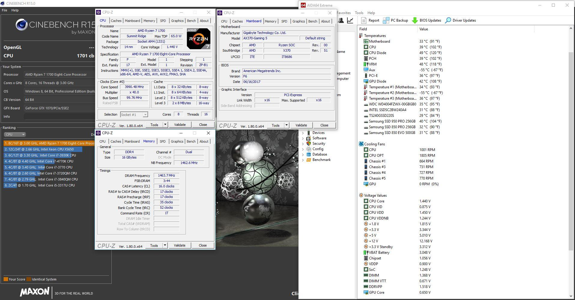 AMD Ryzen /Threadripper OverClocking V1 1