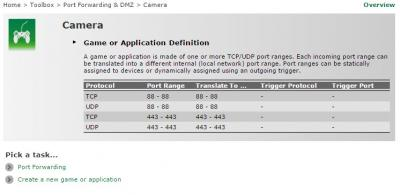 IP Camera Port Forward on Maxis