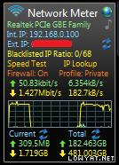 Disconnect when utilize full bandwidth!