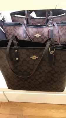 97307bb4b6c53 WTS] Brand New COACH Tote Bag / Men's Wallet