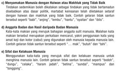 Tony Pua Used Bahasa Tidak Santun