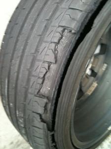 Kia Optima Forum >> Kia Optima K5 Nexen Tyre Blew at 130kmph