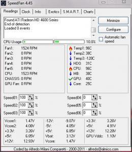 CPU Temp problem