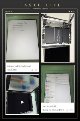 wts] ByPass iCloud Lock Apple iD Activation Lock