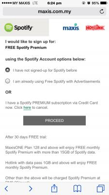 how to cancel spotify premium maxis