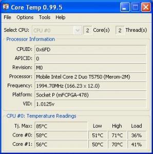 Undervolting Notebook Processor--