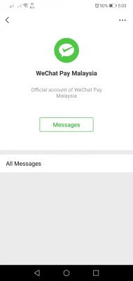 Wechat Pay (MY) Discussion Thread V1