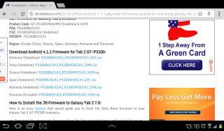 Samsung Galaxy Tab 2 (7 0) P3100