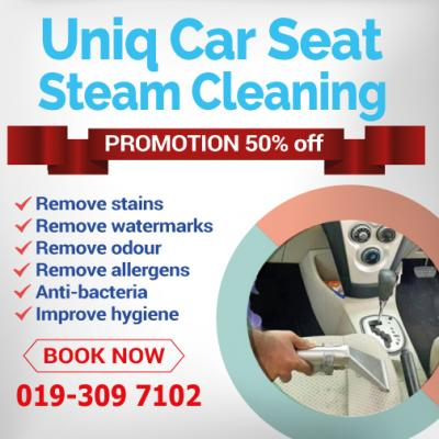 car seat steam cleaning service. Black Bedroom Furniture Sets. Home Design Ideas