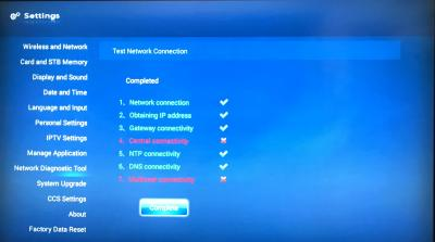Connect UniFi HyppTV Set Top Box Through WiFi