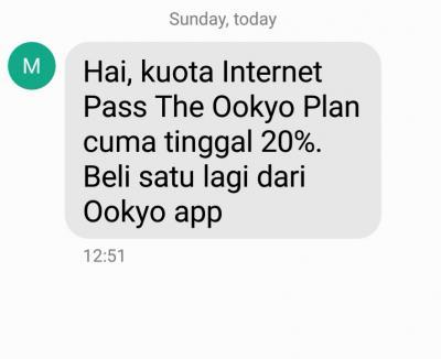 ookyo Unlimited Prepaid plan
