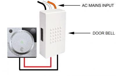 16-24v doorbell wiring on