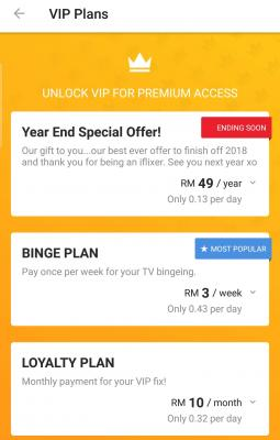Iflix annual pass rm49 worth it or not?