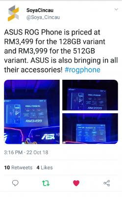 ASUS ROG Phone is priced 6bd396b3c5