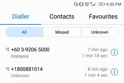 SPRM prank call