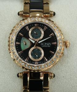 item s bonia sapphire diamond day and date display package
