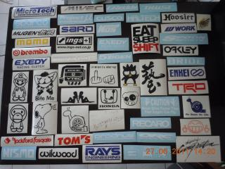 WTS Custom Made And Ready Made Car Stickers - Custom made car stickers