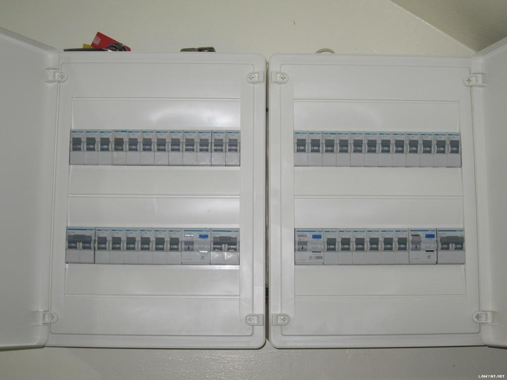 Hager fuse box instructions on