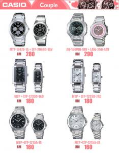 BULK] ORIGINAL CASIO WATCHES MEN & LADIES