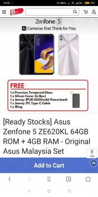 Asus Zenfone 5 / 5Z (2018)