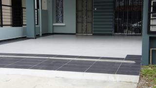 Car porch tile color