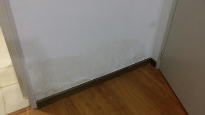 Condo upstairs leaking