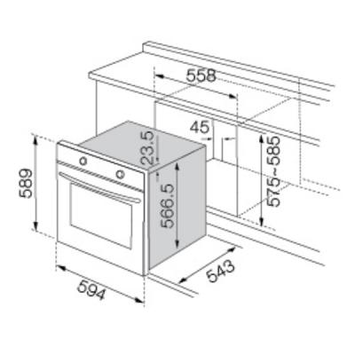 Wtb tall cabinet for built in oven microwave for Built in microwave cabinet size