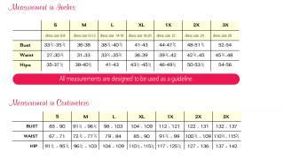 jockey bra size chart