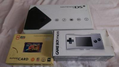 Wts Game Boy Micro Ndsi Supercard Mini Sd