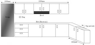 Simple Kitchen Cabinet Looking For Quotation
