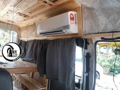 This campervan win liao lor
