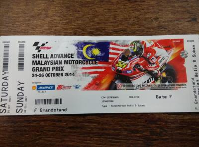 moto gp ticket