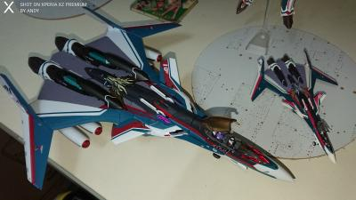 Action Figures Bandai Macross 30 Singing Voice Connecting The Galaxy Dx Chogokin Yf-30 Chronos Reliable Performance