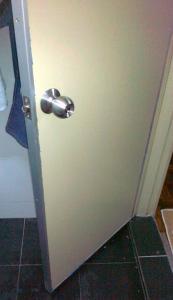 Replace Bathroom Door